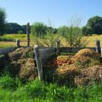 Kompostierung auf dem Komposthaufen