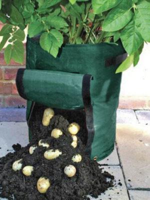 Spezielle Säcke für den Kartoffelanbau